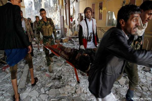 5 شهید در حمله جنگندههای سعودی به یک مراسم عروسی در یمن