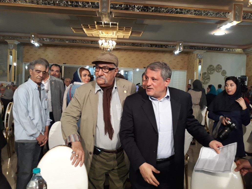 وزیر ارشاد با هنرمندان پیشکسوت دیدار کرد