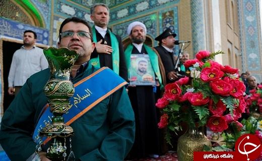 کاروان زیرسایه خوشید در دهه کرامت مهمان مسجدمقدس جمکران است
