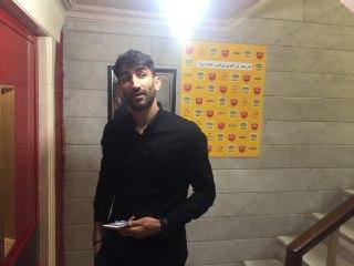 بیرانوند در باشگاه پرسپولیس حاضر شد