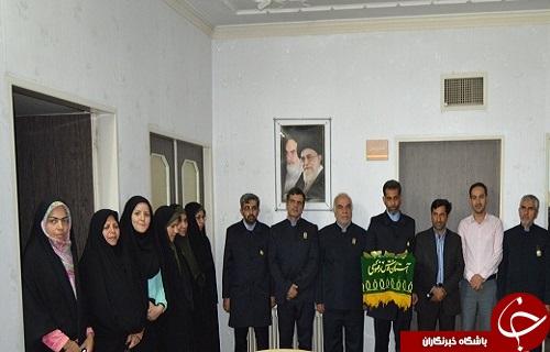 حضورخادمان حرم رضوی در باشگاه خبرنگاران جوان مرکز یزد
