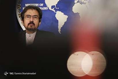 باشگاه خبرنگاران -نشست خبری سخنگوی وزارت خارجه - 25 تیر 97
