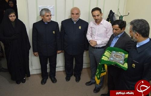 حضور خادمان حرم رضوی در باشگاه خبرنگاران جوان مرکز یزد