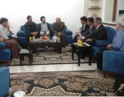 دیدار مسئولان با خانواده دانشمند شهید هستهای کشور