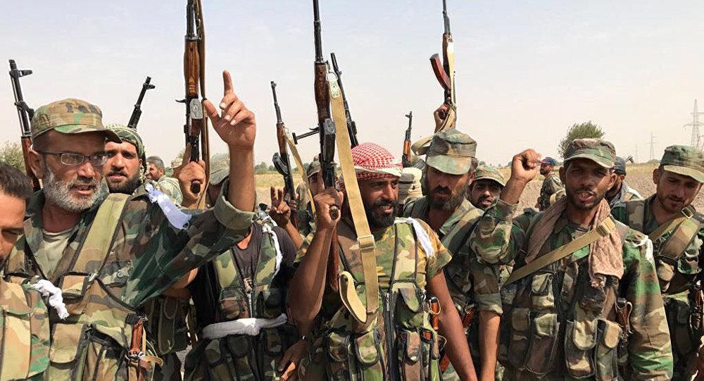 پیشروی نیروهای ارتش سوریه در درعا/ کنترل روستاهای این استان به دست سوریها افتاد
