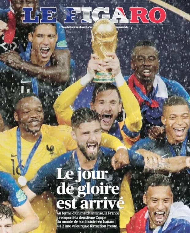 بازخورد رسانه های فرانسوی و کروات بعد از فینال جام جهانی 2018
