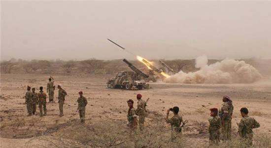 حملات توپخانهای ارتش یمن به مواضع نظامیان سعودی در جیزان