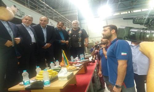 ///حضور سلطانی فر و صالحی امیری در تمرین تیم ملی واترپلو