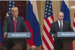 پوتین: نگرانی خود را درباره خروج آمریکا از برجام مطرح کردیم/ ترامپ: درباره اهمیت اعمال فشار بر ایران صحبت کردم