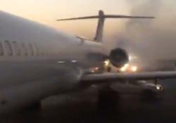 خطر از بیخ گوش مسافران پرواز اهواز- تهران گذشت
