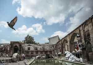 گزارش یک شهروند از وضعیت مسجد جامع ساری بعد از آتشسوزی + فیلم