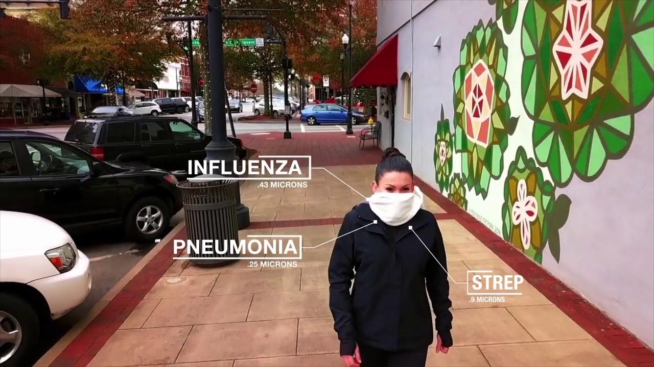 شال هوشمندی که آلودگی هوا را فیلتر میکند +فیلم