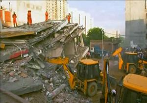ریزش ساختمان با 3 کشته + فیلم