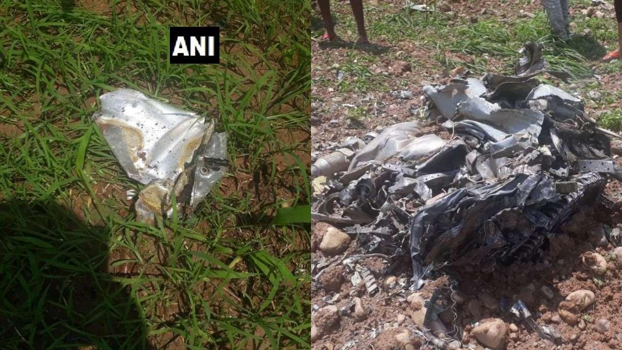 باشگاه خبرنگاران -سقوط جنگنده «میگ ۲۱» نیروی هوایی هند