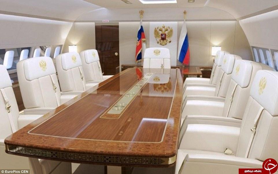 تصاویری از هواپیما اختصاصی پوتین