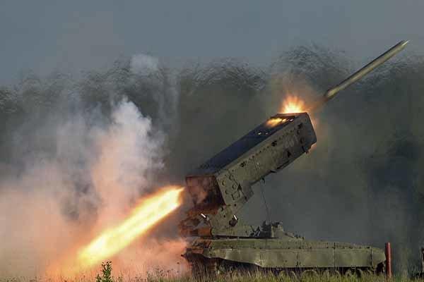 موشک انداز «آتش خورشید» در مرزهای عراق و سوریه مستقر شد