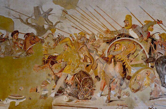 تصویر نخستین نبرد اسکندر و داریوش سوم کجا نگهداری میشود؟ + تصاویر