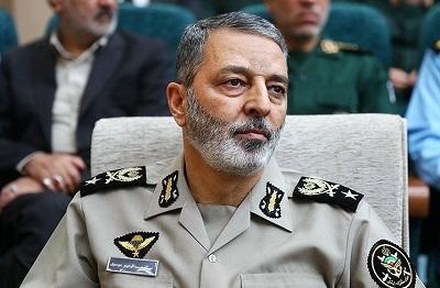 فرمانده کل ارتش: ارتش ایران اسلامی در عالیترین سطح آمادگی قرار دارد