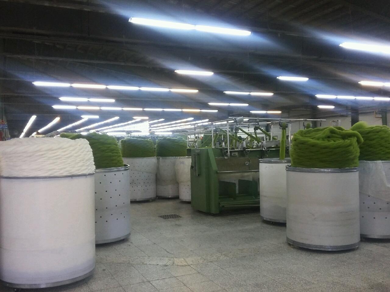 کارخانه تولیدی مشهد نخ با تغییر ساختار تولید، دوباره فعال شد