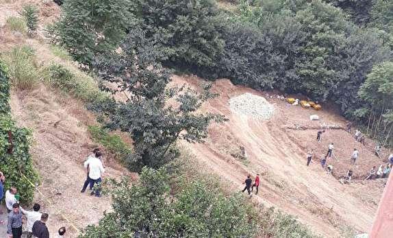 باشگاه خبرنگاران - تخریب بدون مجوز جنگل در گرگان متوقف شد / بررسی موضوع در دادگاه