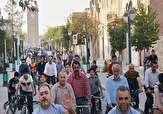 باشگاه خبرنگاران -برگزاری همایش دوچرخه سواری در شهر دوچرخه ها