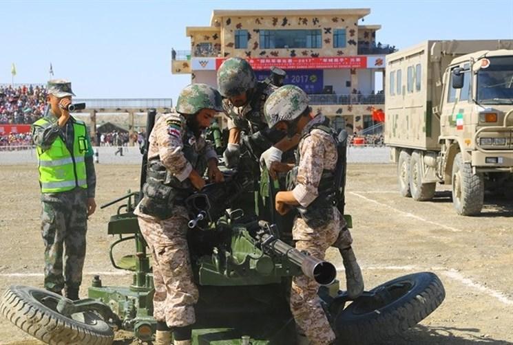 تیم اربابان سلاح نیروی زمینی به مسابقات نظامی روسیه اعزام می شود