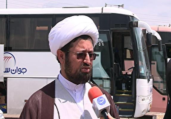 باشگاه خبرنگاران -اعزام 100 نفر از افراد بی بضاعت اردبیل به مشهد مقدس