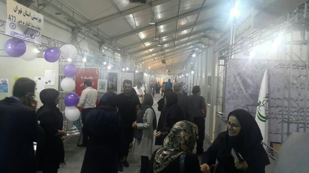 برپایی نمایشگاه تولیدات مددجویان بهزیستی