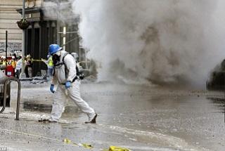 دود غلیظ حاوی گازهای مضر موجب نگرانی شهروندان نیویورک شد+ فیلم