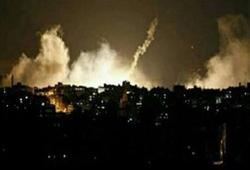 حمله هوایی گسترده رژیم صهیونیستی به نوار غزه/ سه راکت به شهرکهای صهیونیست نشین شلیک شد