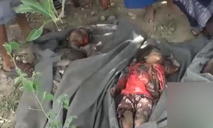 ویدئویی تکاندهنده از جنایت ائتلاف متجاوز سعودی در یمن!