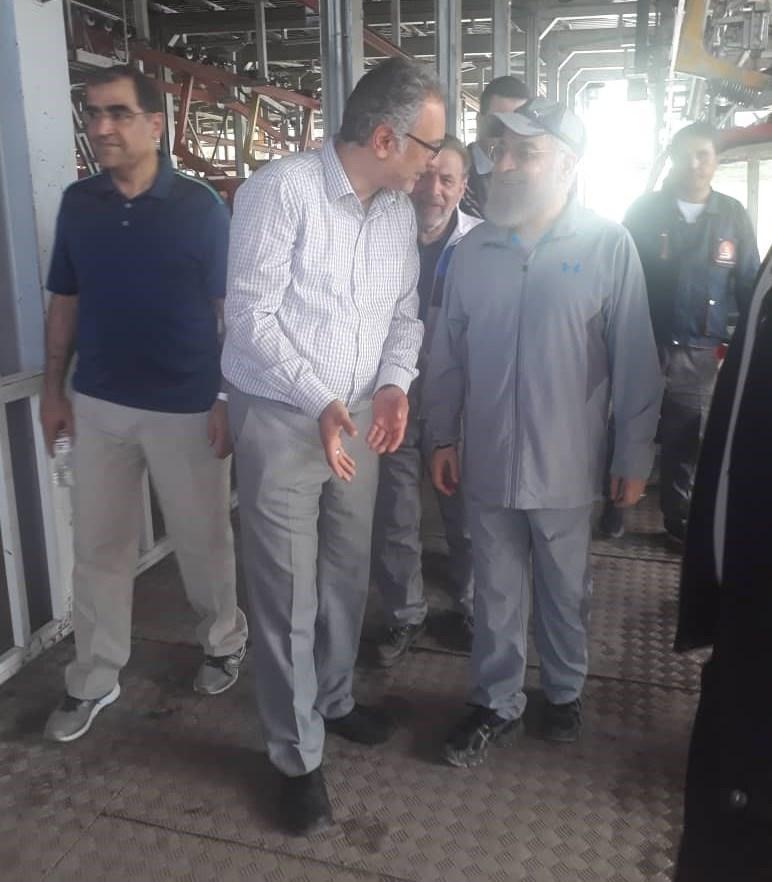 واکنش کاربران به بازدید روحانی از تلهکابین توچال +تصاویر