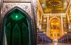مسجد، کلیسا، کنیسه و آتشکده در یک محله/ توریستیترین خیابان ایران کجاست؟+فیلم