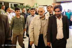 مراسم ختم حاج سید حسن حقانیان