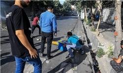 سوءاستفاده از تجمع صنفی/ اغتشاشگران اموال مردم را به آتش كشيدند+ تصاوير