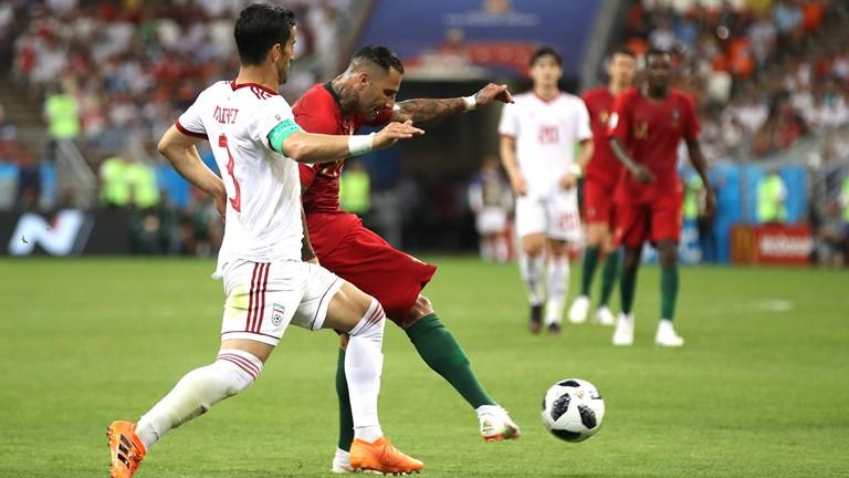 نتیجه لحظه به لحظه/تیم ملی ایران 0 - پرتغال 1