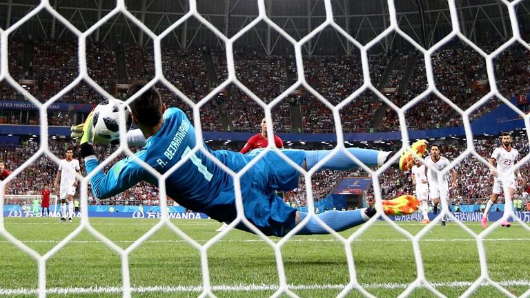 پایان نیمه نخست/تیم ملی ایران 0 - پرتغال 1