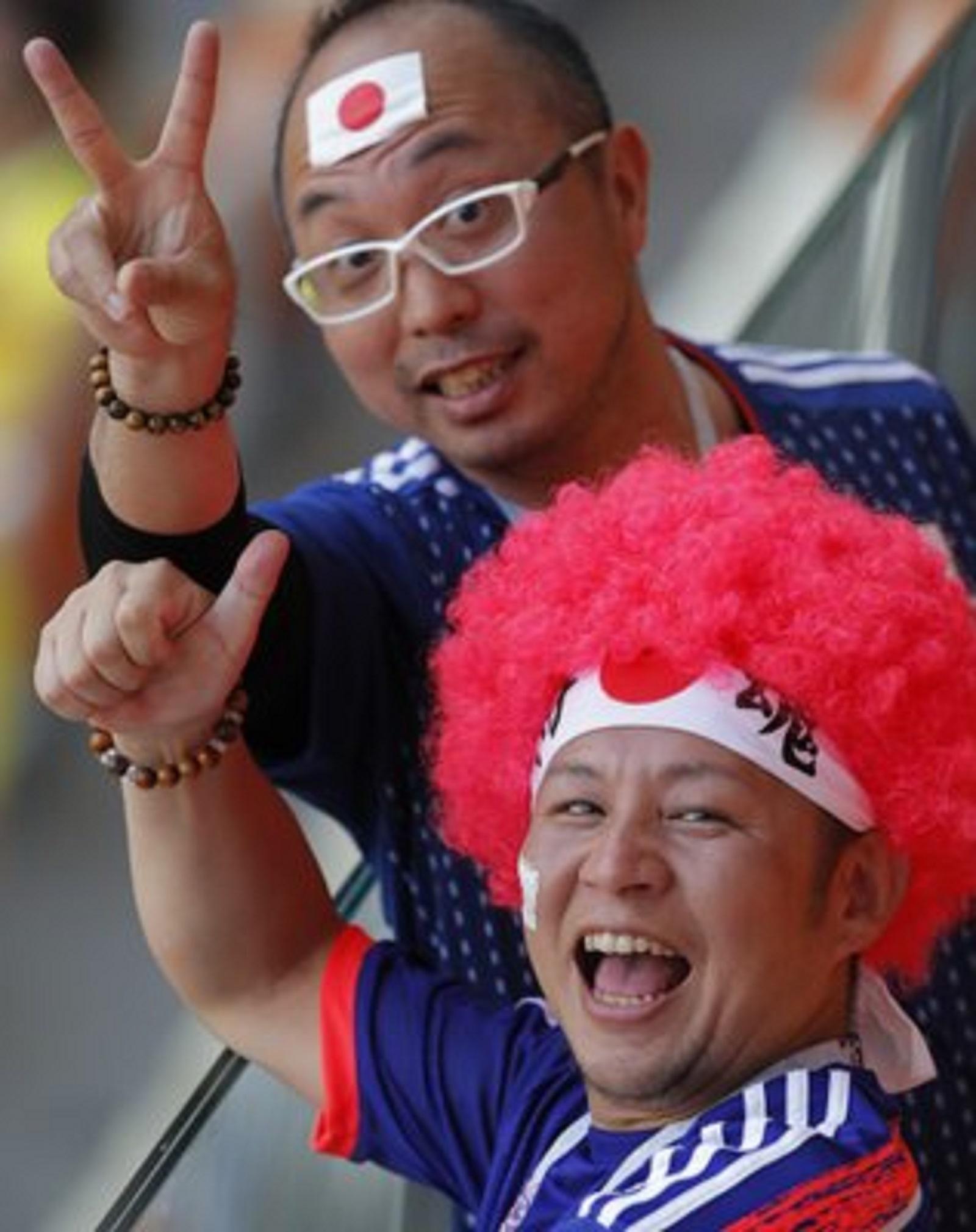 چهرههای عجیب هواداران فوتبال در جام جهانی روسیه+ تصاویر