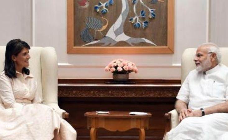 نیکی هیلی: آمریکا در حال بررسی مجوز استفاده هند از بندر چابهار است