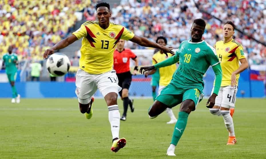 سنگال - کلمبیا / گزارش لحظه به لحظه