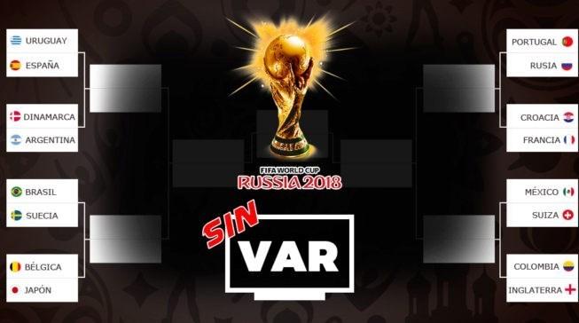 اگر ویدئوچک نبود برنامه مرحله یک هشتم نهایی جام جهانی چگونه می شد؟+عکس