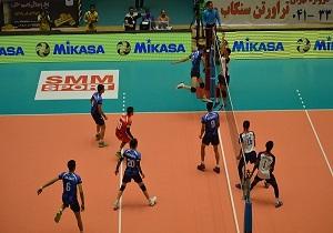 شکست کشورمان در مسابقات والیبال نوجوانان آسیا
