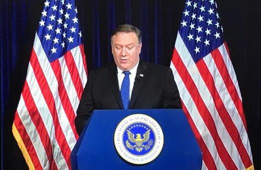 سخنان تکراری وزیر خارجه آمریکا در جمع آمریکاییهای ایرانیتبار