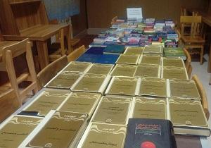 اهدای 92 جلد کتاب به کتابخانه عمومی علامه شیخ مفید اسلامیه