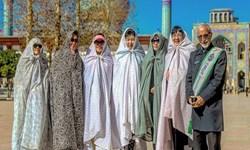 اشکهای توریست آلمانی برای امام حسین (ع)+عکس