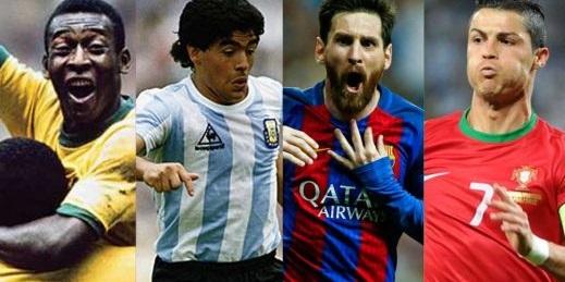 بهترین بازیکن تاریخ فوتبال جهان انتخاب شد+عکس
