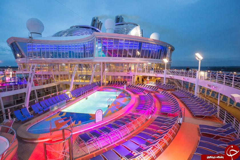 از کشتی های کروز و لذت سفر با آن ها چه می دانید؟!/ تفریحات لاکچری خود را با این تفریحات مقایسه کنید! +تصاویر