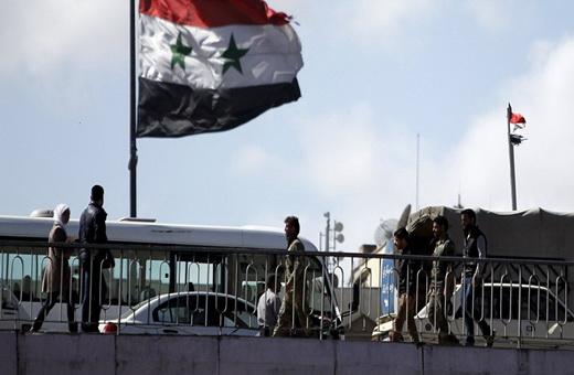 حمله هوایی به دمشق/ انهدام سه موشک و یک پهپاد توسط سامانه دفاع موشکی سوریه