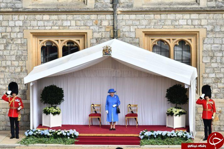ترامپ: ملکه انگلیس مرا ۱۵ دقیقه منتظر گذاشت، نه من!