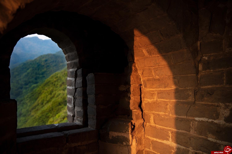دیوار چین به هتل تبدیل شد+تصاویر